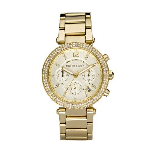 Michael Kors マイケルコース レディース腕時計 Women's MK5354 Parker Gold Watch 10000円以上で送料無料