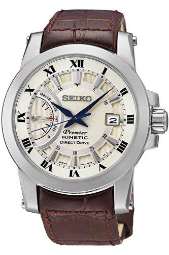 SEIKO GENUINE Watch セイコー キネティック メンズ腕時計 Kinetic Direct Drive Male - SRG013P1 10000円以上で送料無料