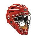 USAミズノ サムライ G2シリーズ 硬式用 キャッチャーマスク レッド Mizuno G2 Pro Catcher 039 s Helmet, Red