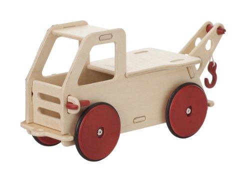 ムーバー ベビートラック 乗用玩具 木製 ナチュラル Moover Wooden Baby Truck (Natural)