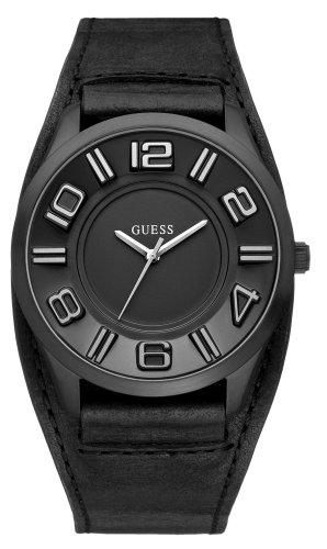 ゲス 腕時計 メンズ Guess Men's Fashion Analogue Watch W14542G1 with Black Strap 【10000円以上で送料無料!】