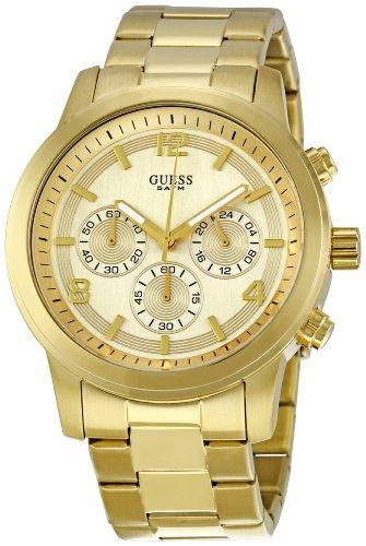 ゲス 腕時計 レディース Guess Ladies Gold Plated Chronograph Bracelet Watch W14043L1 【10000円以上で送料無料!】