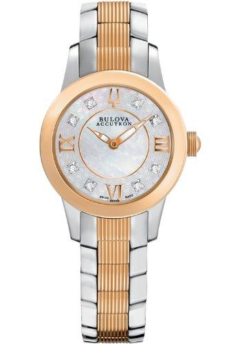 Bulova Accutron ブローバアキュトロン レディース腕時計 Masella Women's Quartz Watch 65P106 10000円以上で送料無料