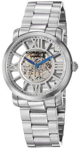 Stuhrling ステューリング 男女兼用腕時計 280B.33112 Stainless Steel Case Steel Bracelet Men's & Women's Watch 10000円以上で送料無料