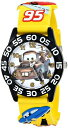 ディズニー 腕時計 キッズ 時計 子供用 カーズ メーター Disney Kids' W001508 Disney Cars 3D Plastic Watch, Yellow 3D Plastic Strap, W001508 Analog Display Analog Quartz Yellow Watch
