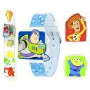 ディズニー 腕時計 キッズ 時計 子供用 トイストーリー ウッディ バズ エイリアン Disney Kids' TOY016 Toy Story 3 Digital Interchangeable Strap and Toppers Watch