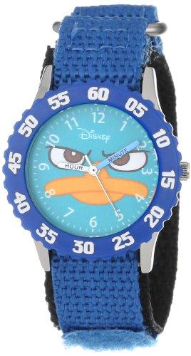 ディズニー 腕時計 キッズ 時計 子供用 フィニアスとファーブ カモノハシ ペリー Disney Kids' W000157