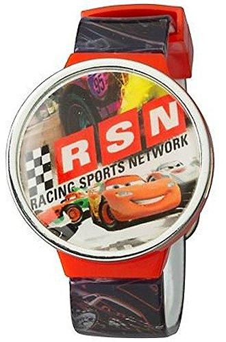 ディズニー 腕時計 キッズ 時計 子供用 カーズ マックィーン Disney Pixar Cars Boys LCD Flip Top Watch