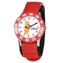 ディズニー 腕時計 キッズ 時計 子供用 くまのプーさん Disney Kids' W000099 Winnie the Pooh & Friends Stainless Steel Time Teacher Watch