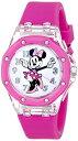ディズニー 腕時計 キッズ 時計 子供用 ミニー Disney Kids' MN1130 Analog Display Analog Quartz Pink Watch