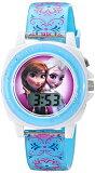 �ǥ����ˡ� �ӻ��� ���å� ���� �Ҷ��� ���ʤ���ν��� ���� ���륵 Disney Kids' FZN3588 Frozen Anna and Elsa Digital Display Analog Quartz Blue Watch