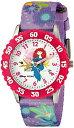 ディズニー 腕時計 キッズ 時計 子供用 メリダとおそろしの森 メリダ Disney Kids' W000262 Merida Stainless Steel Time Teacher Pink Bezel Printed Strap Watch