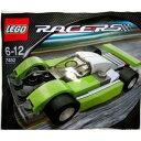 レゴ レーサー ル・マン スポーツカー LEGO Racers: Le Mans Sports Car (Green) Set 7452 (Bagged)