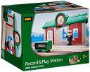 BRIO ブリオ 木製 レール プレイステーション 駅 33578 Rail Record and Play Station