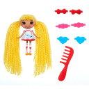 ミニララループシー ソフトドール 人形 ヘアードール Mini Lalaloopsy Loopy Hair Doll - Spot Splatter Splash