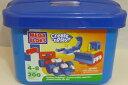 メガブロック タブ ブルー Mega Bloks Create 'N Play Junior 200 Piece Blue Tub Prim...