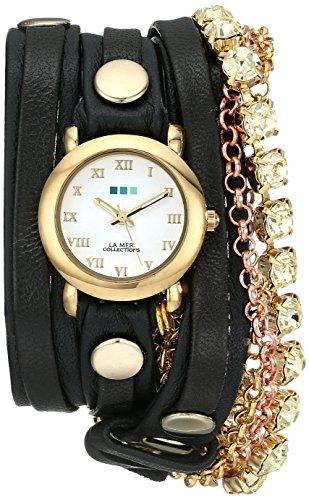 ラメールコレクション 時計 レディース 腕時計 La Mer Collections Women's LMMULTI5002YEL Canary St. Tropez Chandelier Crystal Wrap Watch ラメール コレクション レディース 腕時計 La Mer Collections Women's LMMULTI5002YEL Canary St. Tropez Chandelier Crystal Wrap Watch