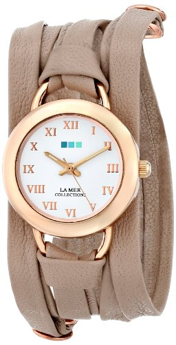 ラメールコレクション 時計 レディース 腕時計 La Mer Collections Women's LMSATURN002 Analog Display Japanese Quartz Beige Watch ラメール コレクション レディース 腕時計 La Mer Collections Women's LMSATURN002 Analog Display Japanese Quartz Beige Watch