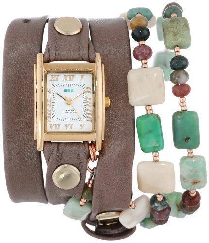 ラメールコレクション 時計 レディース 腕時計 La Mer Collection's Women's LMMULTI1007 Amazonite Wrap Watch ラメール コレクション レディース 腕時計 La Mer Collection's Women's LMMULTI1007 Amazonite Wrap Watch