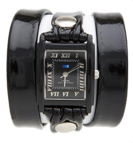 ラメールコレクション 時計 レディース 腕時計 La Mer Ladies Watch Lmstw1006 Wrap with Black Patent Strap ラメール コレクション レディース 腕時計 La Mer Ladies Watch Lmstw1006 Wrap with Black Patent Strap【貴重】