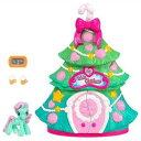 マイリトルポニー フィギュア 人形 ドール クリスマスツリー プレイセット My Little Pony A Very Minty Christmas Tree