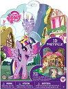 マイリトルポニー フィギュア 人形 ドール ペーパークラフトキット ポニービルプレイセット My Little Pony 3D Ponyvi...