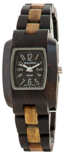 テンス 時計 腕時計 木製 Tense Solid Dark Sandalwood w Green Wood Timber Small Wrist Watch M8102DG-W テンス 時計 腕時計 木製 Tense Solid Dark Sandalwood w Green Wood Timber Small Wrist Watch M8102DG-W