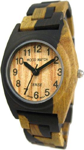 テンス 時計 メンズ 腕時計 木製 Tense Mens Multicolored Dark Light Natural Wood Watch G8109DM テンス 時計 メンズ 腕時計 木製 Tense Mens Multicolored Dark Light Natural Wood Watch G8109DM
