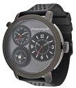 フリースタイル 腕時計 メンズ 時計 Freestyle Men'S 101164 Passage 1-Piece Case Dual Time Triple Black Watch