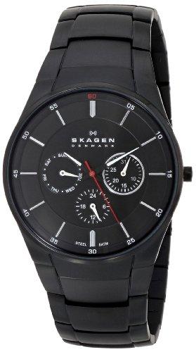 スカーゲン 腕時計 メンズ 時計 Skagen Men's SKW6055 Aabye Quartz/Multi Stainless Steel Black Watch スカーゲン 腕時計 メンズ 時計 Skagen Men's SKW6055 Aabye Quartz/Multi Stainless Steel Black Watch