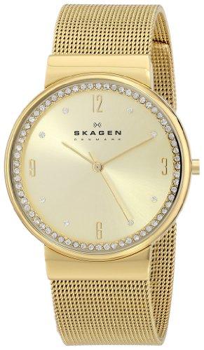 スカーゲン 腕時計 レディース 時計 Skagen Women's SKW2129 Ancher Quartz 3 Hand Stainless Steel Gold Watch スカーゲン 腕時計 レディース 時計 Skagen Women's SKW2129 Ancher Quartz 3 Hand Stainless Steel Gold Watch