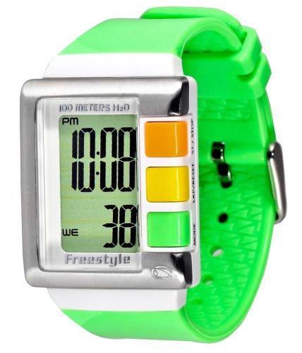 フリースタイル 腕時計 レディース 時計 Freestyle Women's FS84844 Summer Digital Green Polyurethane Watch フリースタイル 腕時計 レディース 時計 Freestyle Women's FS84844 Summer Digital Green Polyurethane Watch