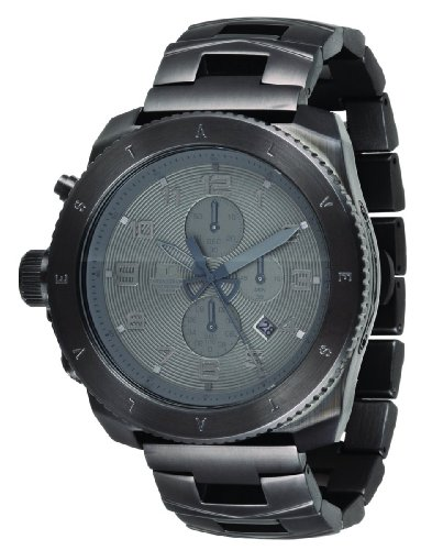 ベスタル 時計 メンズ 腕時計 Vestal Men's RES005 Restrictor All Gunmetal Chronograph Dive Watch ベスタル 時計 メンズ 腕時計 Vestal Men's RES005 Restrictor All Gunmetal Chronograph Dive Watch