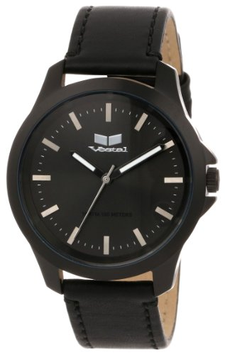 ベスタル 時計 男女兼用 腕時計 Vestal Unisex HER3L01 Heirloom Leather Blackout Watch ベスタル 時計 男女兼用 腕時計 Vestal Unisex HER3L01 Heirloom Leather Blackout Watch