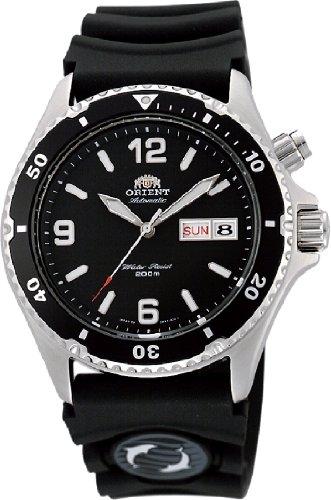 """オリエント 時計 メンズ 腕時計 Orient #FEM65004B Men's """"Back Mako"""" 200M Automatic Diver Watch with Rubber Strap オリエント 時計 メンズ 腕時計 Orient #FEM65004B Men's """"Back Mako"""" 200M Automatic Diver Watch with Rubber Strap"""