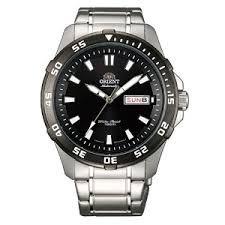 オリエント 時計 メンズ 腕時計 Orient EM7C002B Men's Thresher Stainless Steel Automatic Black Dial Watch オリエント 時計 メンズ 腕時計 Orient EM7C002B Men's Thresher Stainless Steel Automatic Black Dial Watch信頼性の高い品質