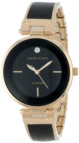 アンクライン 時計 レディース 腕時計 Anne Klein Women's AK/1414BKGB Diamond-Accented Bangle Watch アンクライン 時計 レディース 腕時計 Anne Klein Women's AK/1414BKGB Diamond-Accented Bangle Watch