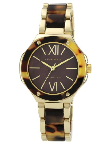 アンクライン ブレスレット アクセサリー Anne Klein Women's AK/1148BMTO Gold-Tone Tortoise Resin Bracelet Watch アンクライン ブレスレット アクセサリー Anne Klein Women's AK/1148BMTO Gold-Tone Tortoise Resin Bracelet Watch