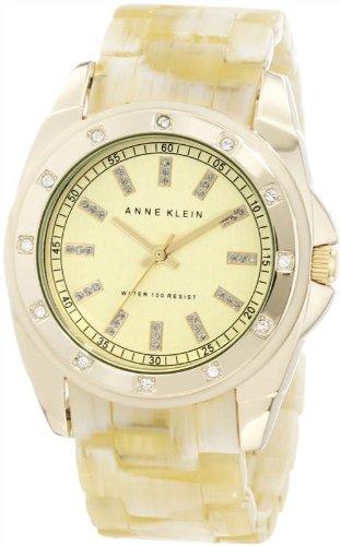 アンクライン ブレスレット アクセサリー Anne Klein Women's 10/9988CHHN Swarovski Crystal-Accented Horn Resin Bracelet Watch アンクライン ブレスレット アクセサリー Anne Klein Women's 10/9988CHHN Swarovski Crystal-Accented Horn Resin Bracelet Watch