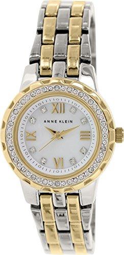 アンクライン ブレスレット アクセサリー Anne Klein Women's AK/1509MPTT Swarovski Crystal Accented Two-Tone Bracelet Watch アンクライン ブレスレット アクセサリー Anne Klein Women's AK/1509MPTT Swarovski Crystal Accented Two-Tone Bracelet Watch