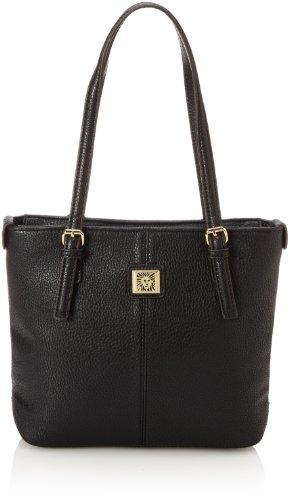 アンクライン 鞄 カバン バッグ Anne Klein Perfect Small AA-0019459AA Tote Handbag,Black,One Size アンクライン 鞄 カバン バッグ Anne Klein Perfect Small AA-0019459AA Tote Handbag,Black,One Size