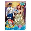 ディズニー プリンセス ドール 人形 フィギュア リトルマーメイド アリエル エリック Exclusive Disney Princess The Little Mermaid W..
