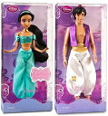 "ディズニー プリンセス ドール 人形 フィギュア アラジン ジャスミン Disney Store Disney Princess Couples Doll Gift Set Featuring Princess Jasmine & Prince Aladdin 12"" Dolls (2011 Styles)"