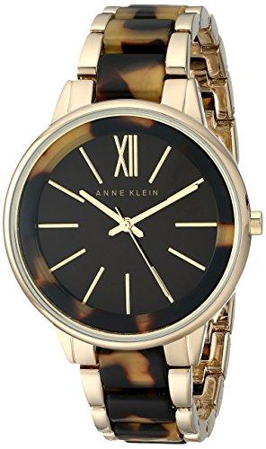 アンクライン 時計 レディース 腕時計 Anne Klein Women's AK/1812BNTO Gold-Tone and Tortoise Bracelet Watch アンクライン 時計 レディース 腕時計 Anne Klein Women's AK/1812BNTO Gold-Tone and Tortoise Bracelet Watch