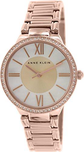 アンクライン 時計 レディース 腕時計 Anne Klein Women's AK/1794MPRG Swarovski Crystal-Accented Rose Gold-Tone Bracelet Watch アンクライン 時計 レディース 腕時計 Anne Klein Women's AK/1794MPRG Swarovski Crystal-Accented Rose Gold-Tone Bracelet Watch