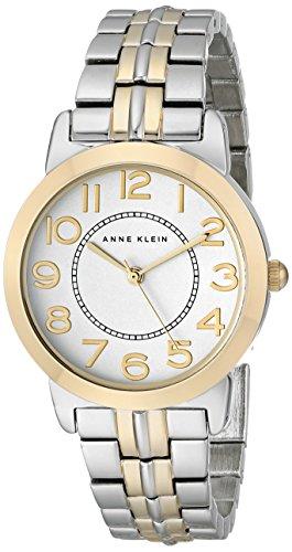 アンクライン 時計 レディース 腕時計 Anne Klein Women's AK/1791SVTT Easy to Read Two-Tone Bracelet Watch アンクライン 時計 レディース 腕時計 Anne Klein Women's AK/1791SVTT Easy to Read Two-Tone Bracelet Watch