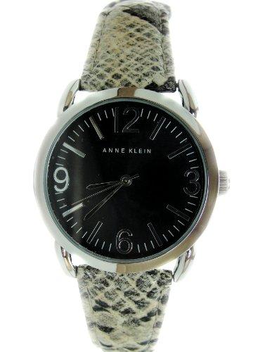 アンクライン 時計 レディース 腕時計 Anne Klein Women's Snake Print Leather Band Watch AK//1549BKGY アンクライン 時計 レディース 腕時計 Anne Klein Women's Snake Print Leather Band Watch AK//1549BKGY