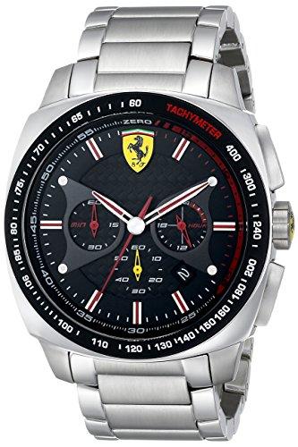 フェラーリ 時計 メンズ 腕時計 グッズ Ferrari Men's 0830192 Aero Evo Analog Display Quartz Silver Watch フェラーリ 時計 メンズ 腕時計 グッズ Ferrari Men's 0830192 Aero Evo Analog Display Quartz Silver Watch