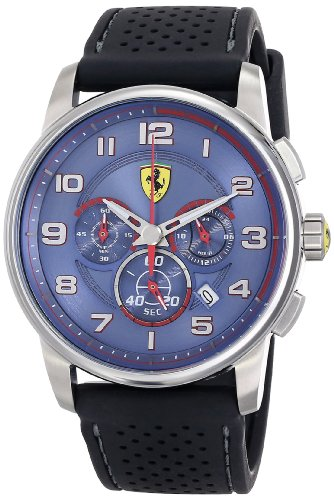 フェラーリ 時計 メンズ 腕時計 グッズ Ferrari Men's 830062 Analog Display Japanese Quartz Black Watch フェラーリ 時計 メンズ 腕時計 グッズ Ferrari Men's 830062 Analog Display Japanese Quartz Black Watch
