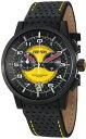 フェラーリ 時計 メンズ 腕時計 グッズ Ferrari Granturismo Swiss Made Men's Black PVD Chronograph Watch FE-11-IPB-CP-YW